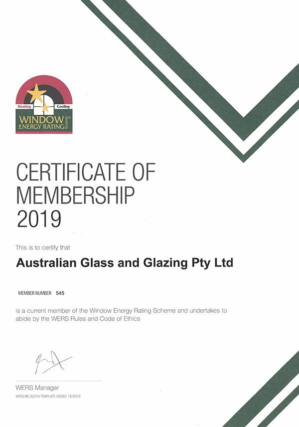 certificate wers
